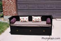 Upcycled Furniture / Ideas to upcycle some thing into furniture
