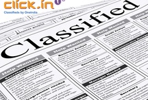 """OneIndia Classifieds / """"Free online Indian classifieds. Sell, Buy, Find - faster and easier:  flats, apartments, houses, PG, jobs, IT jobs, BPO jobs, cars, used cars, used bikes, motorcycles, mobiles, computers, tuition.... - click.in""""  / by Oneindia"""