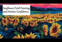 Flower and Fruit Painting Videos