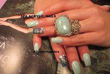 Spa Acrylic nails / Imaginação sem fronteiras