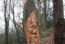 Sculpture / Sculpture, principalement sur bois, des thèmes: Nature, Celtique, Asiatique... Surtout provoquant un sentiment d'une réalisation remarquable.
