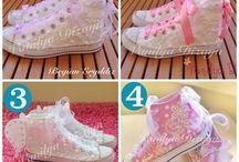 ayakkabı terlik süsleme