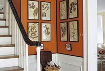 Art Arrangements - Wall Art / Different ways to arrange Art on the Wall when you have multiple items to display.  / by Barbara Miller