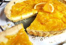 Rezepte mit Citrusfrüchten / Rezepte mit Zitronen, Orangen, Mandarinen, Limetten oder Limonen. Sauer, süß und lecker. Ob Kuchen, Torten, Gebäck, Cremes o.ä.