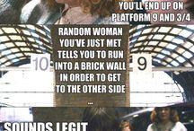 Harry Potter funny / by Amanda Sordo