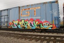 Boxcar Graffiti / Some creative approaches to Boxcar graffiti