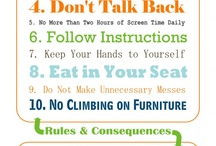 House rules for loving environement