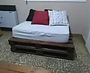 sillones y mesa de palets