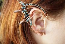 Cool earrings and jewelry