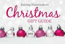 Raising Homemakers Christmas Gift Guide 2017