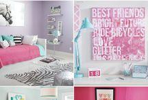 Διακοσμηση κοριτσιστικου εφηβικου δωματιου