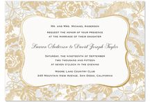 Foil Invitations / by B Wedding Invitations