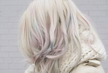 Mother of Pearl Mermaid Hair / Think lilac, green and pink, muted with a pearlised finish. The Aesthetics team are creating a water-coloured pastel look for lived-in colour. Cool blondes can experiment with lighter tones whilst ashy brunettes make for darker, richer hues.