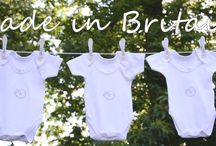 Baby Clothing made in Britain / Gorgeous Snoozing Mouse baby clothing gift sets made in Britain