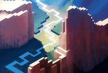 Isometric art