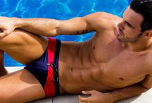Sit Poolside With Adrian C. Martin and BWET Swimwear