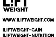 Weight Loss | Weight Gain | Nutrition / Soon to be launched - iLiftWeight.com