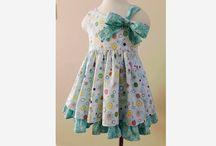 Cutie-Bow Dress, Girl PDF sewing pattern / Adorable Cutie-Bow Dresses by Sew Cutie Pie studio, on www.Sewcutiepiestudio.etsy.com