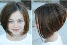 corte de pelo para .niña