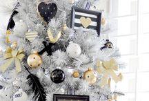 Black&White&Gold Christmas