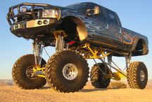 Lifted Trucks / Do you like muddin'? Do you like being taller than everyone else around you? So do we! That's why we have a board specifically for lifted trucks. See all of the sweet high riding trucks to be seen on the Internet! / by RealTruck.Com