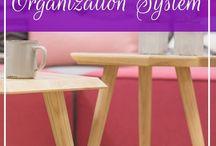 Creating Organization Systems / Get organized, home organizing, car organizing, organize your life, bins, shelving
