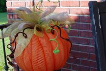 Fall decorating / by Lisa McGraw