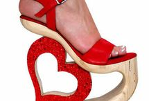 Shoe Bazaar / 95% of these I would NEVER wear, but they're FUN to look at! / by Kristi McCarty Winton