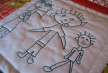 Fabric crafts - hand sewing
