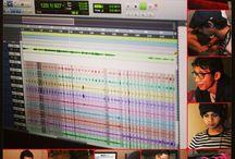 Recording Sessions / Having fun in the studio...