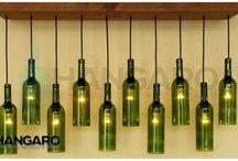 lámpara  bar