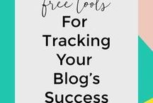 Blog planner idea / Tracking idea to improve my blog and YouTube channel life
