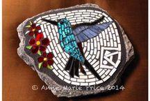 Mozaik Kuşlar