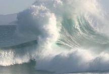 ocean and water....