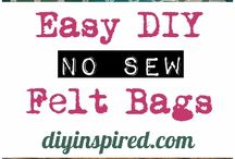 crafty no-sew projects / by Maggie Norkunas