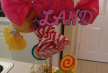 Candyland centerpiece / by Dani