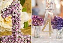 Wedding Table Number Ideas / by MODwedding