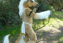 Horse fursuit