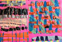 GCSE art textiles exam: Materials