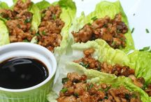 Chicken recipes / PF Chang Chicken Lettuce Wraps