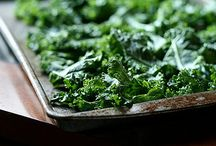 Kale Chips / Food / by Stephanie Wafer