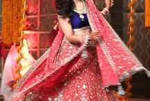 Lehenga inspiration - Wedding day Wear / Every bride has a dream to look stunning, beautiful on her wedding day.  We at Shaadimagic.Com hereby pledge to provide everything latest, hot and happening about Lehengas - right here, on this very board.
