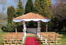 Wedding Gazebos / An outdoor Wedding - what a wonderful idea!