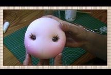bambola faccia