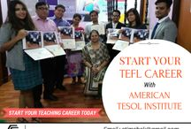 TEFL Course & Training / Know the tips and updated about TEFL course certification in India at American TESOL Institute.