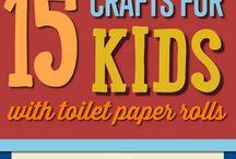Toilet roll activities
