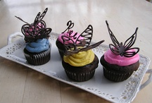 Butterflies  / Ideas for a butterfly themed cupcake tower