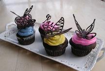 Butterflies  / Ideas for a butterfly themed cupcake tower