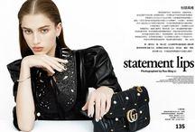 Sabina Lobova in Vogue Taiwan