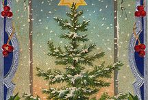 VINTAGE CHRISTMAS CARDS AND PRINTS / by M Armstrong